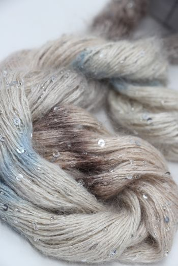 Artyarns Beaded Mohair with Sequins | 521 Desert (Silver)