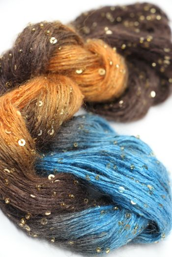 Artyarns Beaded Mohair with Sequins | 523 New Mexico (Gold)