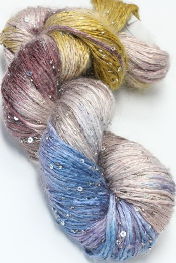 Artyarns Beaded Silk Rhapsody Mohair with Sequins 147 Silver