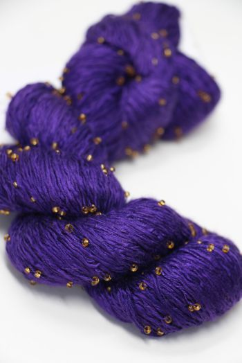 Artyarns Beaded Silk | 298 Wild Iris (Gold)