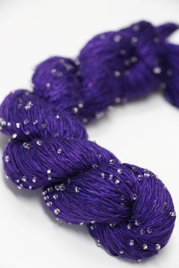 Artyarns Beaded Silk | 298 Wild Iris (Silver)