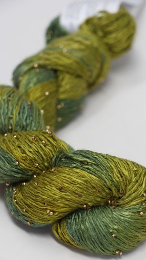Artyarns Beaded Silk | H22 Verte (Gold)