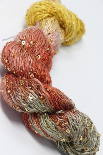 Artyarns BEADED SILK AND SEQUINS LIGHT | 504 Olana (Gold)