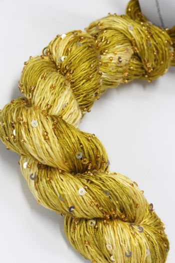 Artyarns BEADED SILK AND SEQUINS LIGHT | 924 Straw Gold