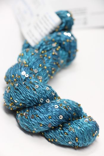 Artyarns BEADED SILK AND SEQUINS LIGHT | H3 Sargasso Sea