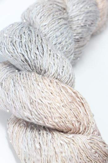 Artyarns BEADED SILK AND SEQUINS LIGHT | H20 Dunes (Silver)