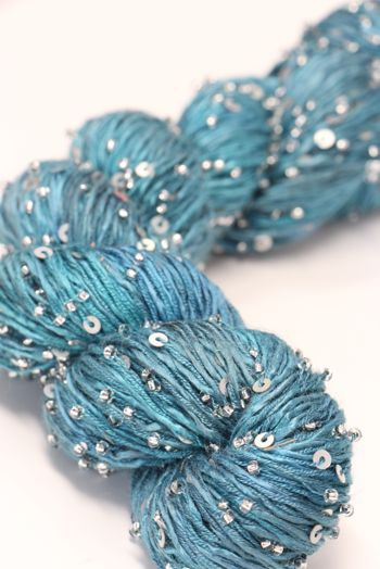 Artyarns BEADED SILK AND SEQUINS LIGHT | H3 Sargasso Sea (Silver)