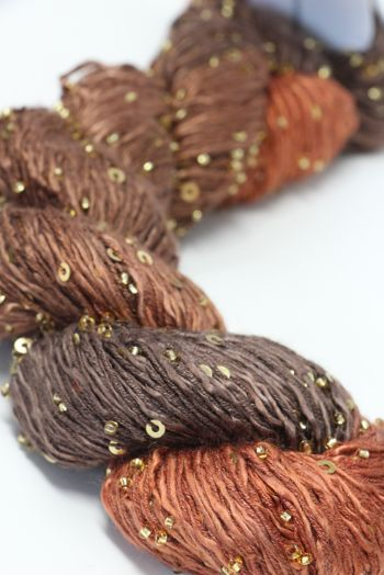 Artyarns BEADED SILK AND SEQUINS LIGHT | H6 Burnt Oranges
