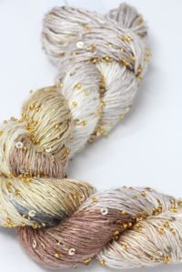 artyarns beaded silk with sequins light
