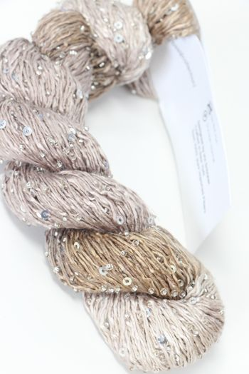 Artyarns BEADED SILK AND SEQUINS LIGHT | H38 Fleur (Silver)