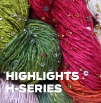 H Series Highlights Beaded silk and sequins light