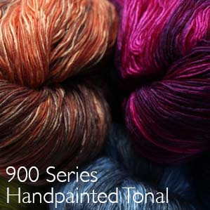 Artyarns Ensemble Glitter Light 900 Series tonal handpaints