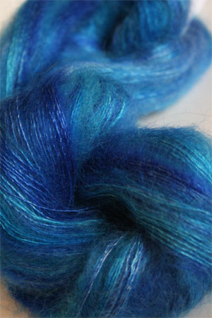 Artyarns Silk Mohair Yarn Color H35 Wild Blue Yonder