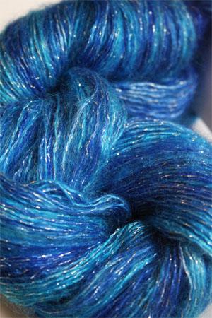 ARTYARNS SILK MOHAIR YARN in H35: WILD BLUE YONDER (Silver)