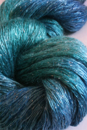 artyarns silk rhapsody glitter in h4 Scarab Silver or Gold with Silver or Gold Glitter in H3 Silver or Gold