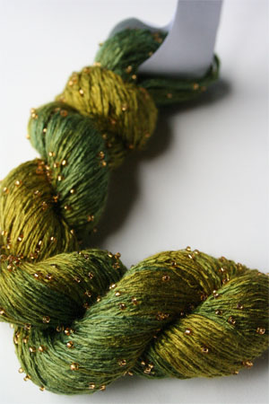 H22 Gold Beaded Silk Light from Artyarns