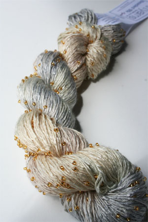 H14 Gold Beaded Silk Light from Artyarns