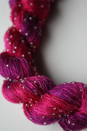 H1 Silver Beaded Silk Light from Artyarns