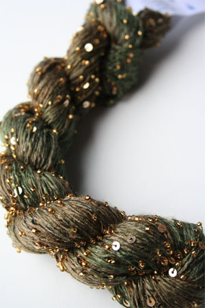 Artyarns BEADED SILK AND SEQUINS LIGHT | H9 Forest