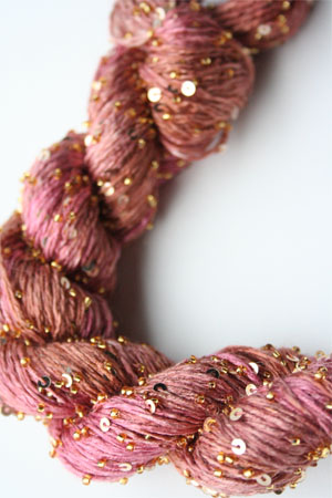 Beaded Silk and Sequins Light in H10 Gold Artyarns