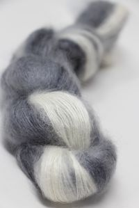 ARTYARNS SILK MOHAIR 117 Black & White