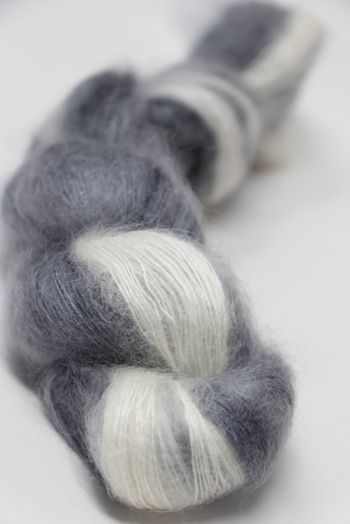 ARTYARNS SILK MOHAIR YARN in 117 Black And White