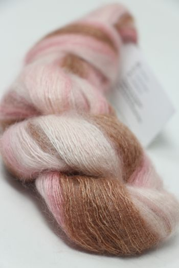 ARTYARNS SILK MOHAIR YARN in 130 Pink Chocolate