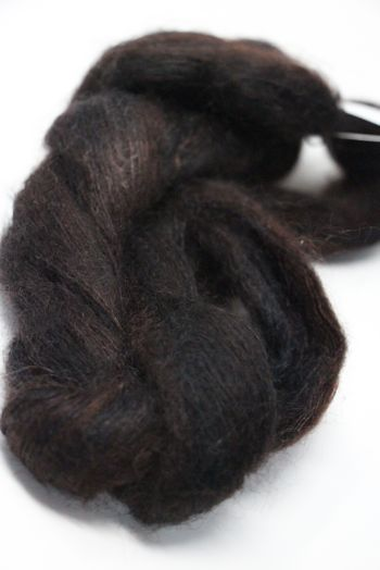 ARTYARNS SILK MOHAIR YARN in H19 Charcoal Browns