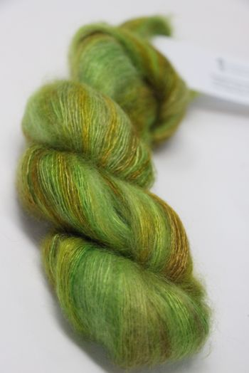 ARTYARNS SILK MOHAIR YARN in H32 Go Green