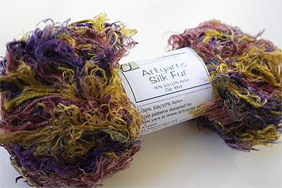 Artyarns Silk Fur Eyelash Knitting Yarn color 114