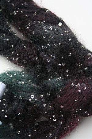 Artyarns Beaded Mohair with Sequins in H17 Silver
