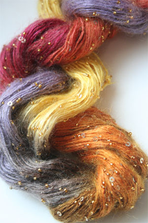Artyarns Beaded Mohair with Sequins in 136 Gold