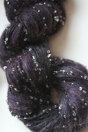 Artyarns Beaded Mohair with Sequins in 289 Silver