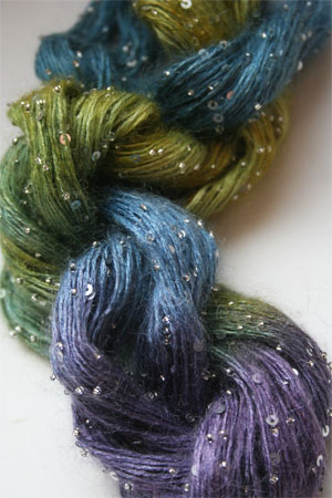 Artyarns Beaded Mohair with Sequins in 123 Silver