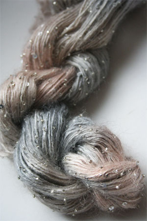 Artyarns Beaded Mohair with Sequins in H20 Silver