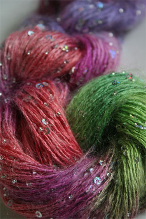 Artyarns Beaded Mohair & Sequins 501 Wildflowers with Silver or Gold Beads and Sequins