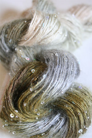 Artyarns Beaded Mohair with Sequins 506 Silver
