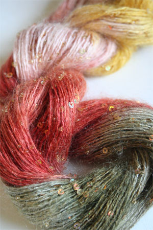 Artyarns Beaded Mohair with Sequins 504 Gold