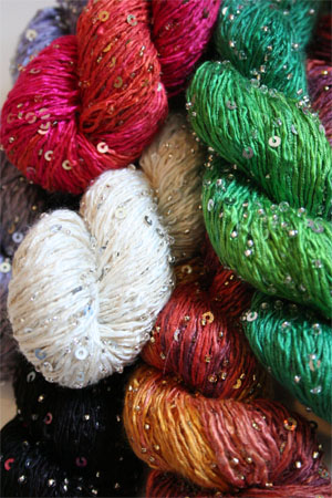 Beaded silk & Sequins Light in 10 Fabulous Colors