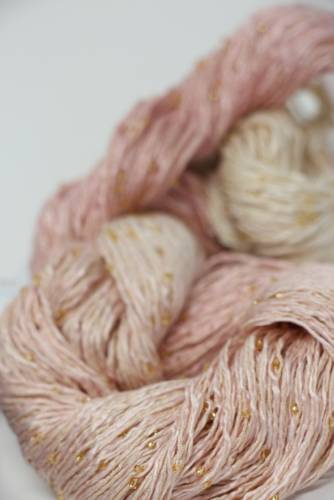 Artyarns Beaded Silk | 128 Sundae (Gold)