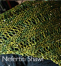 nefertiti shawl