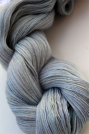 Cashmere Lace Yarn in H16 Blue Grey Tonal
