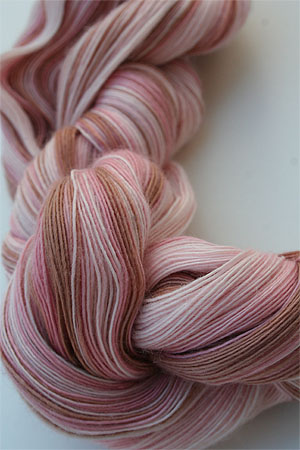 Artyarns Cashmere Lace in 130 Pink Chocolate