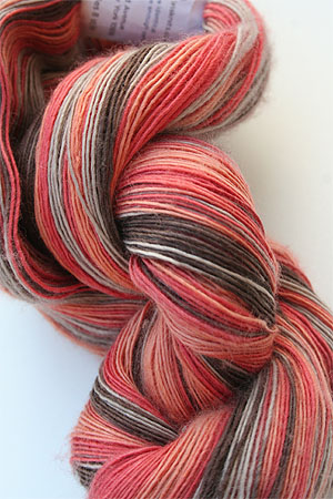 Cashmere Lace in 141 Orange Chocolate Taupe