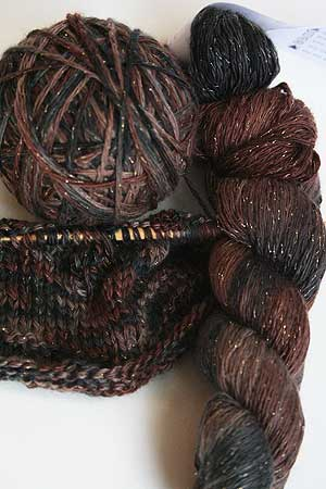 Artyarns Cashmere Glitter knitting yarn in h19