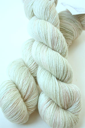 Cashmere Sock Yarn :: 178 Sage Frost