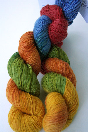 Artyarns Cashmere Sock in 146 Orange Brights