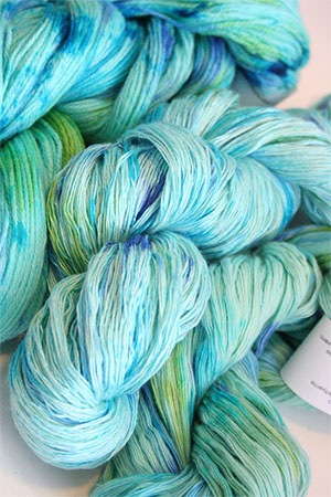 Artyarns Ensemble Light in CC1 Blue Queen!