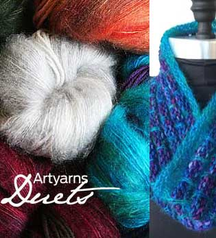 Artyarns DUETS Cowl Kit