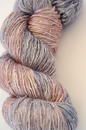 Artyarns Beaded Ensemble Yarn in H20 Silver